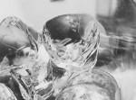 Led v kelímku