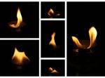 Plameny svíčky