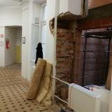 První patro – výtahová šachta